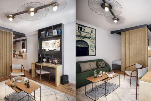 Cowool, une résidence ultra flexible pour louer un logement et des bureaux à Avignon